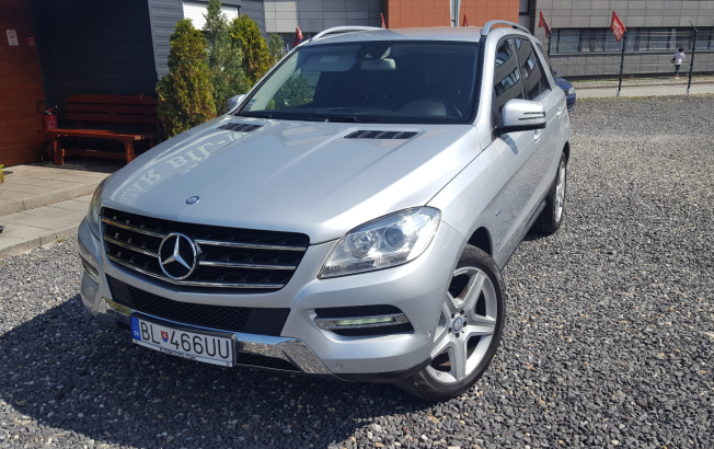 Mercedes-Benz M trieda 250 BlueTEC