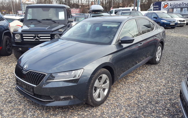 Škoda Superb 2.0 TDI Ambition