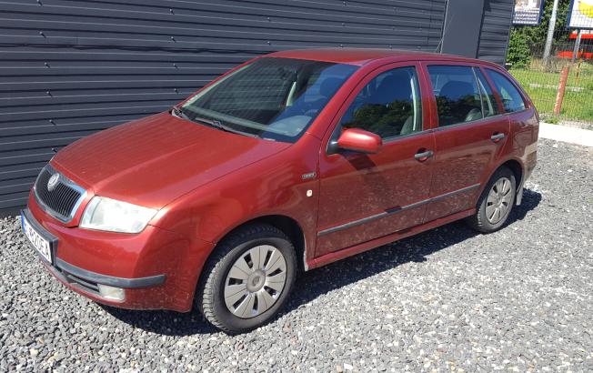 Škoda Fabia Combi 1.2 12V CHOICE