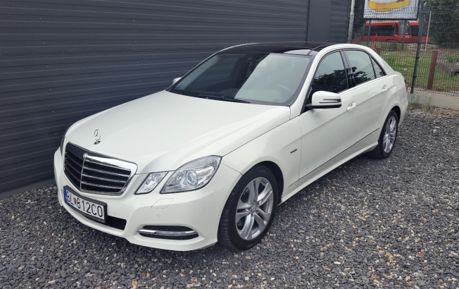 Mercedes-Benz E trieda E TRIEDA 250 CDI 4MATIC BLUETEC