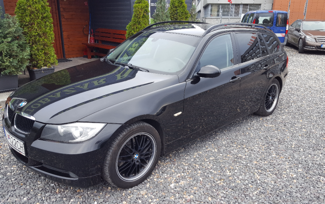 BMW Rad 3 Touring 320 d (E91)