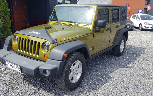 Jeep Wrangler Rubicon 3.8 A/T Unlimited