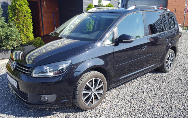 Volkswagen Touran 1.6 TDI COMFORTLINE 7M