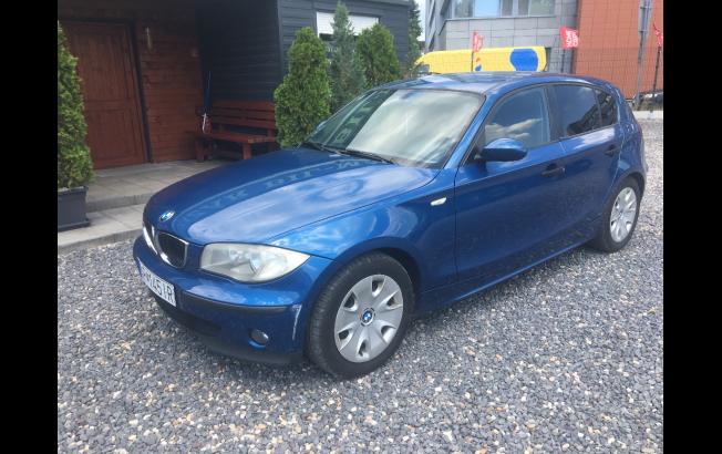 BMW Rad 1 118D (E87)